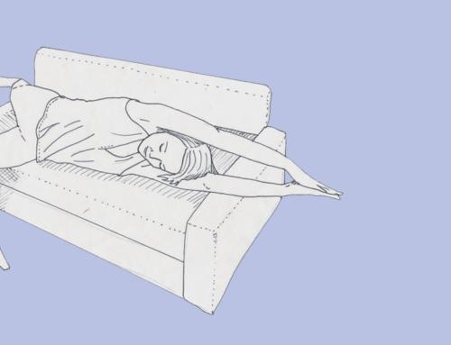 Dehnen im Bett