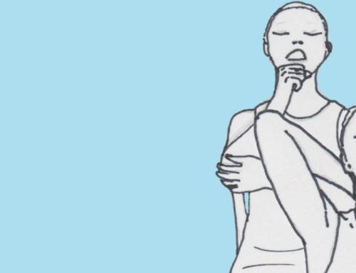 Yoga sitzend: Nacken-Kiefer
