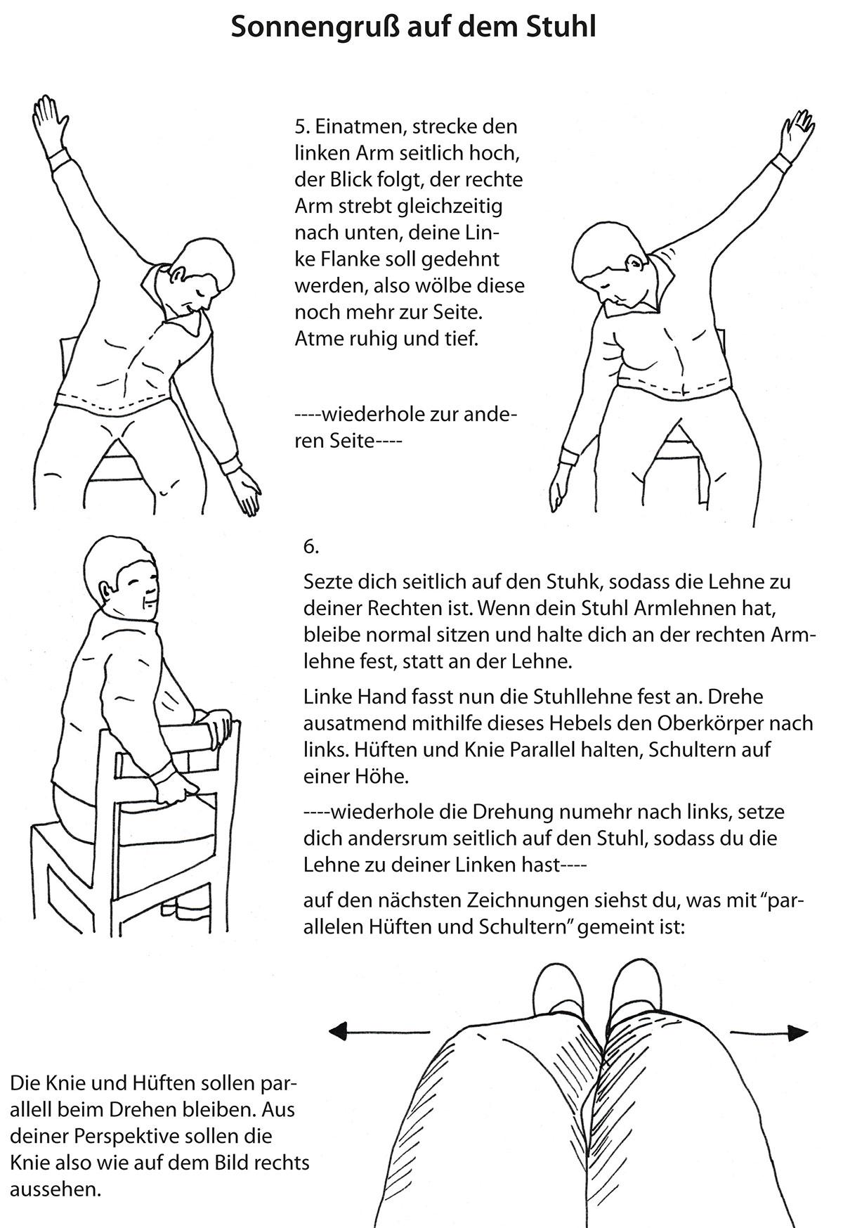 auf armen sitzen yoga