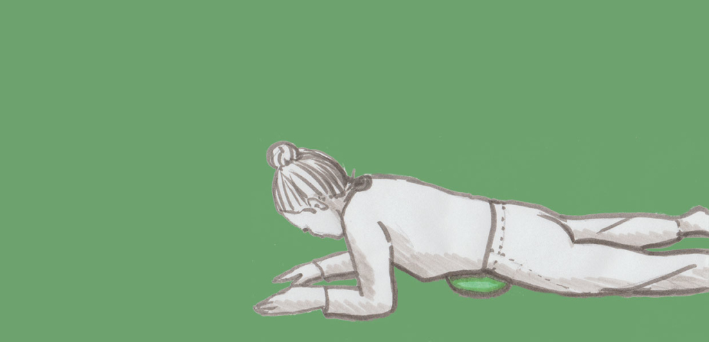 Titelbild für die Übungsanleitung zur faszialen Selbstmassage Teil 1