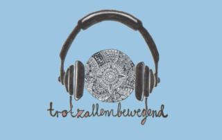 """Podcast Logo von Trotzallembewegend für die Folge """"geführte Advaita Meditation"""""""