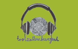 Podcast Logo von Trotzallembewegend für die Podcastfolge Selbstbewusstsein erleben