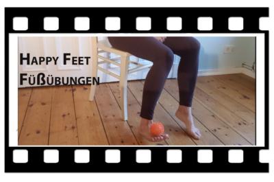 Videologo von Trotzallembewegend. Michelle Laise zeigt Fußübungen im sitzen